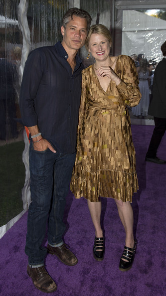 Timothy Olyphant And Wife Alexis Attend Aspen Artcrush