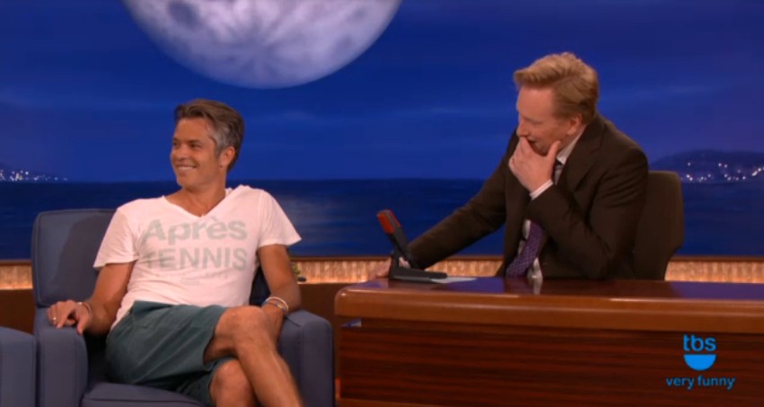 Tim on Conan Sept 15, 2014