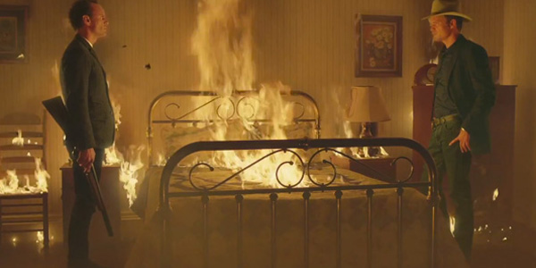 raylan and boyd room on fire