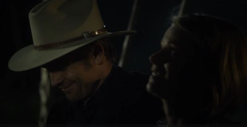 Raylan and Ava fates right hand bridge