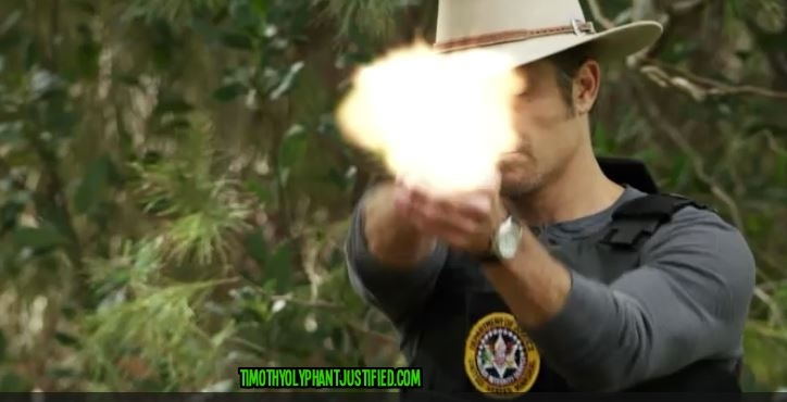 alive day raylan firing gun text