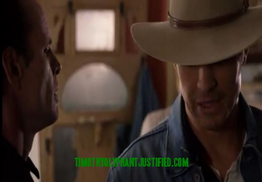 raylan & boyd cool pic text