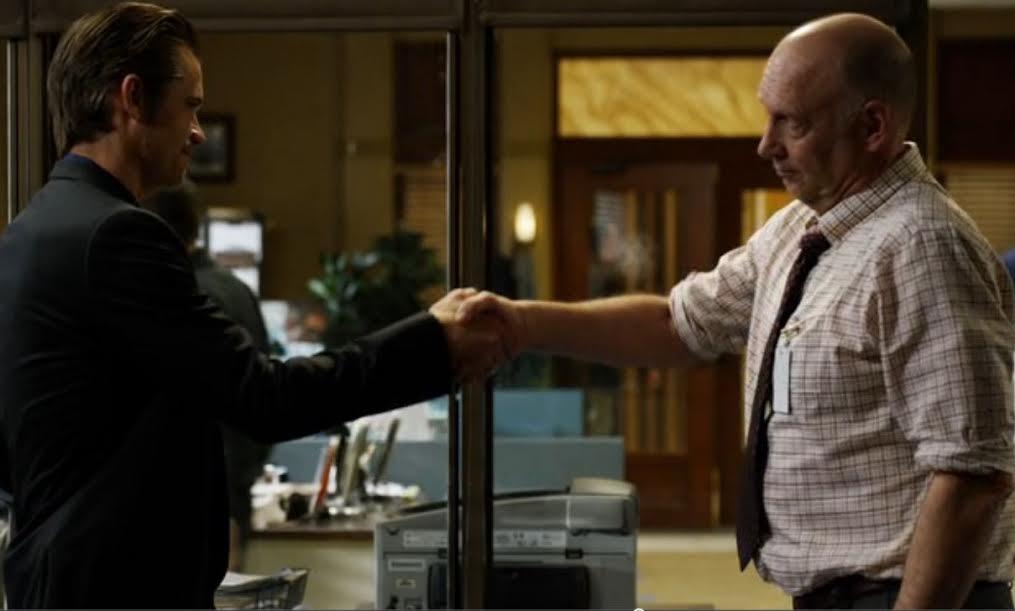 raylan art shaking hands