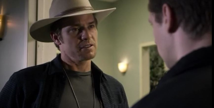raylan talking to tim