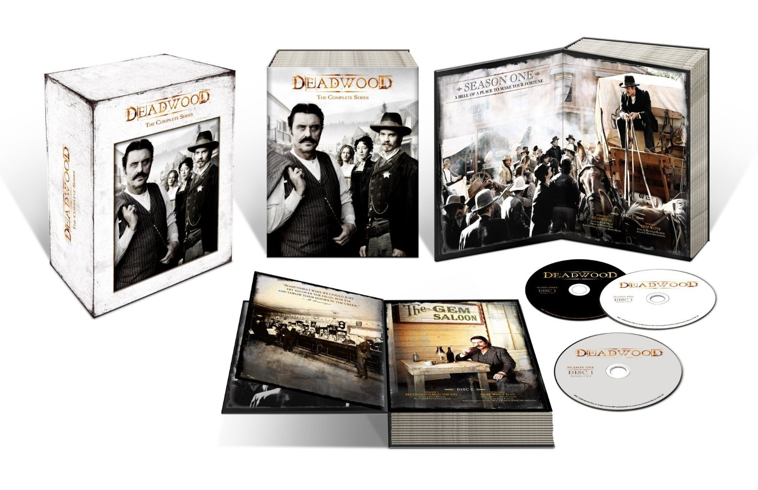 deadwood complete series inside
