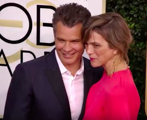 tim and alexis golden globes